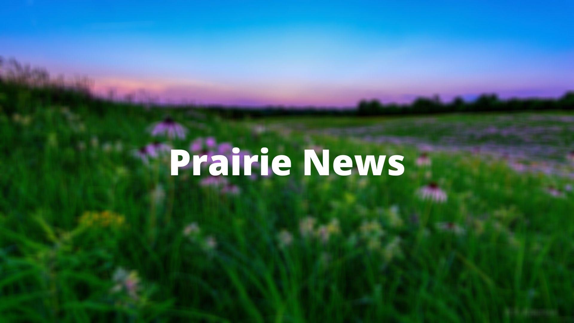 Linden's Prairie sunset