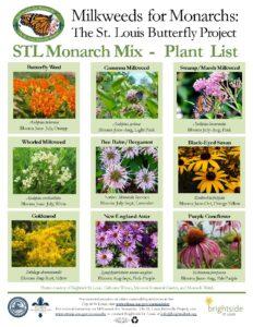 Monarch Mix Plant List