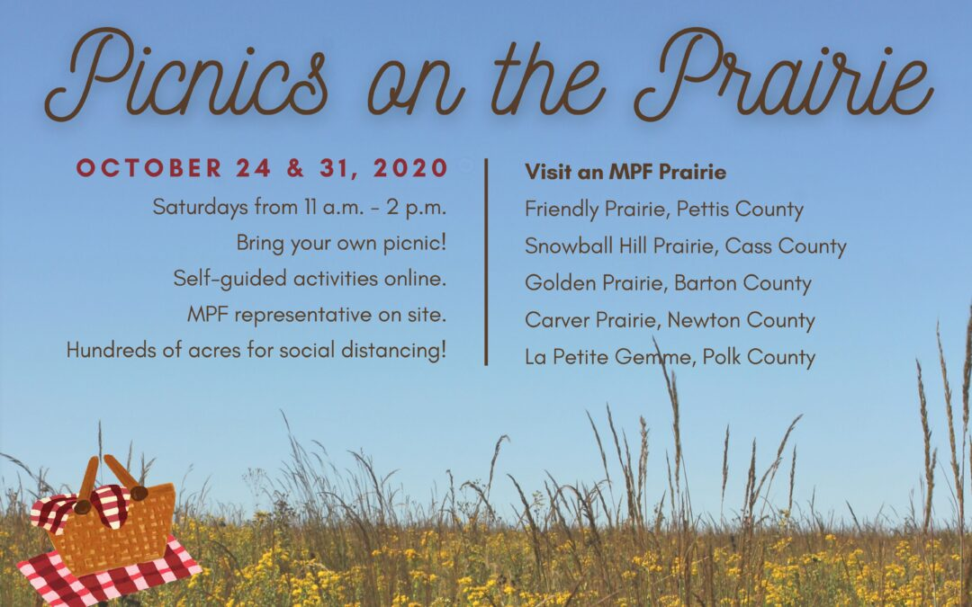 "MPF Invites the Public to Enjoy ""Picnics on the Prairie"" October 24th and 31st"
