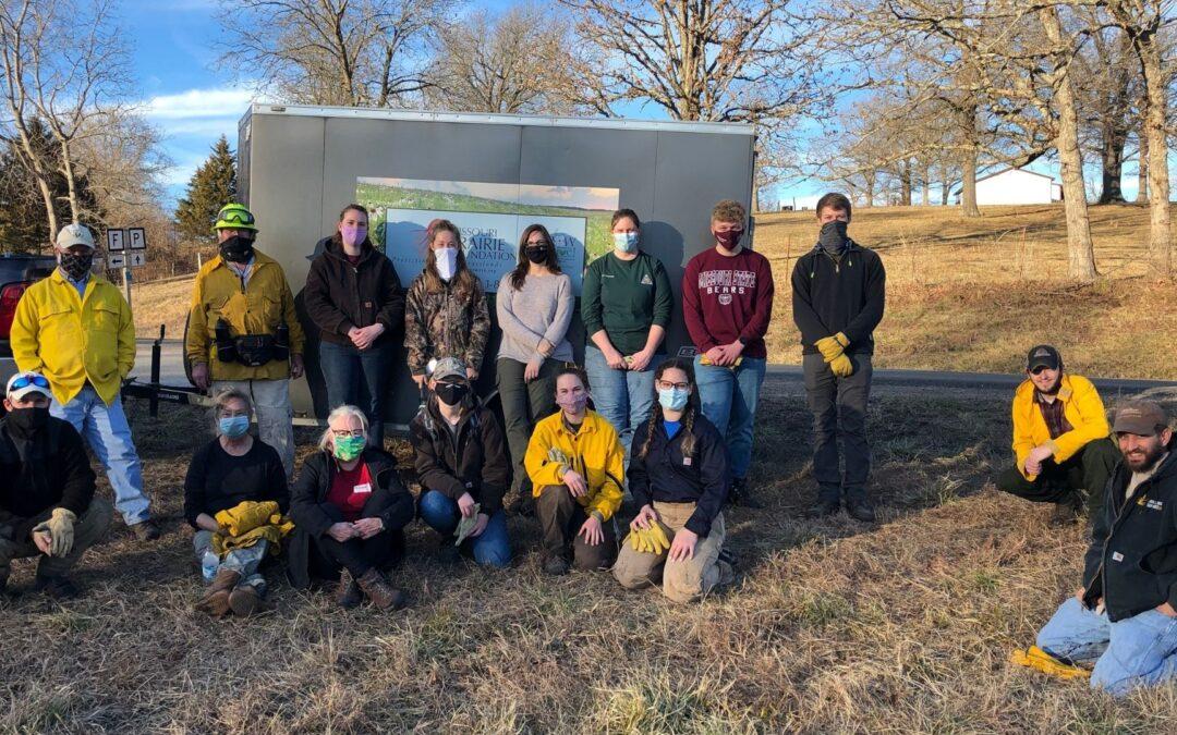 MPF Prairie & Woodland Management Training, January 2021